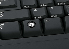 Windows logo key